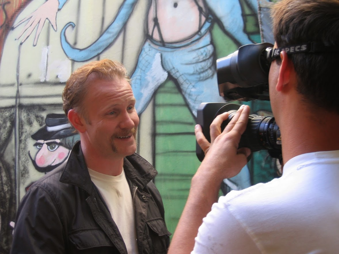 Fixer in Argentina Morgan Spurlock